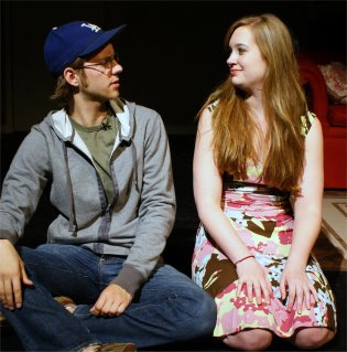 Daniel Johnsen as Jack and Jenny Donheiser as Casey